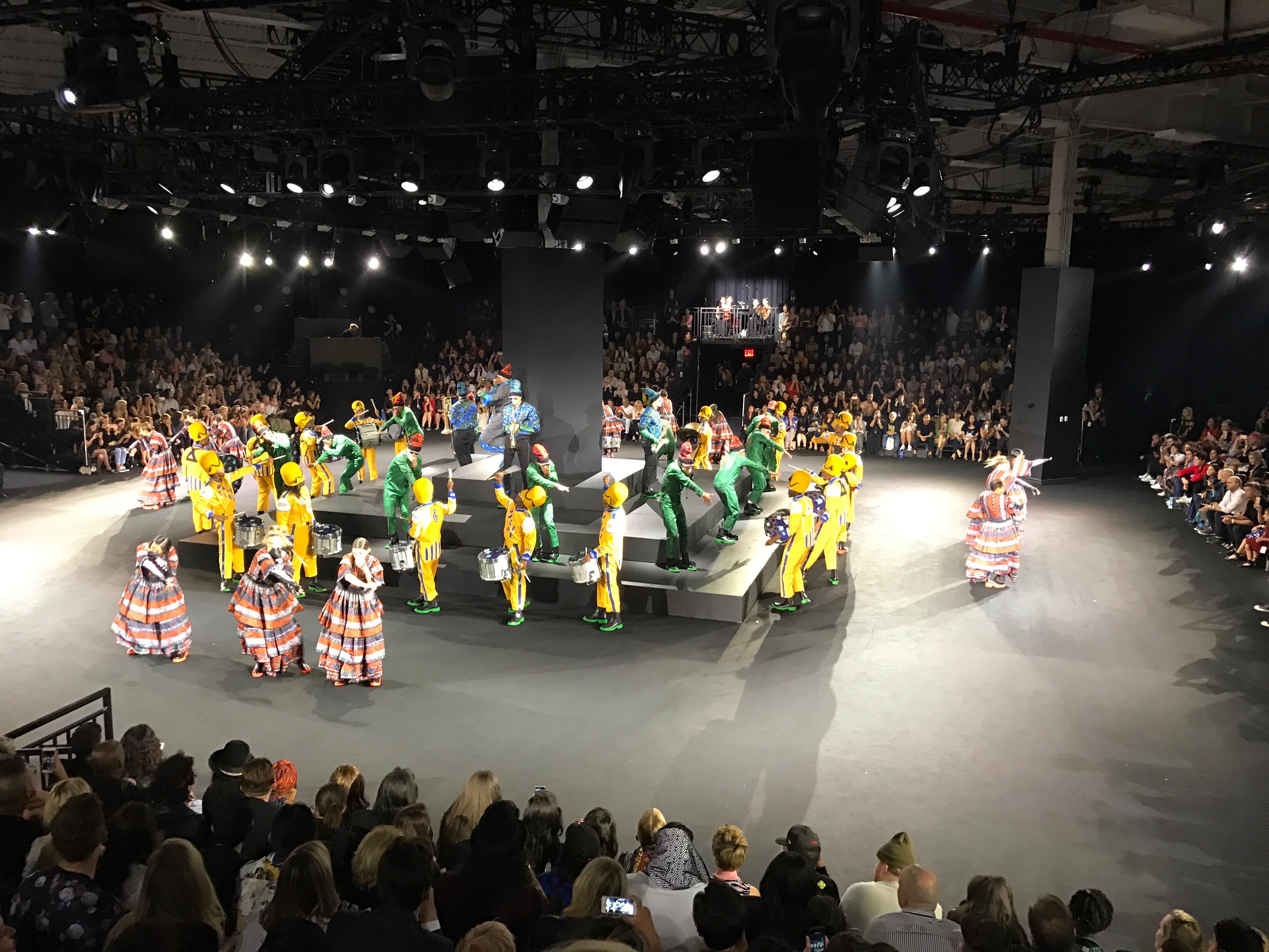 Kenzo x H&M Fashion Show